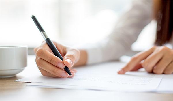 Escriba A Un Destinatario