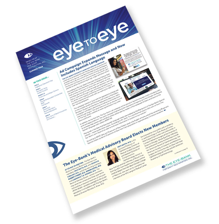 The Eye-Bank's Newsletter
